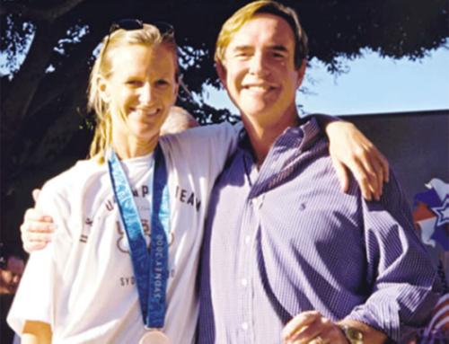 JJ Isler 2000 Olympics Silver Win