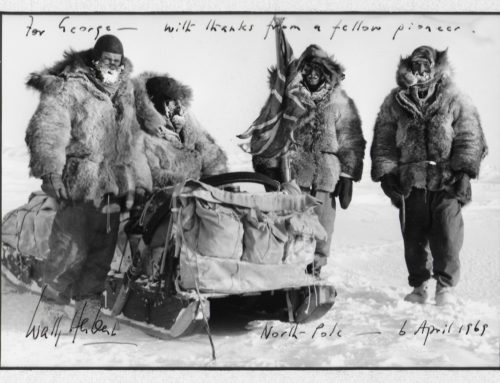 Sir Wally Herbert, Polar Explorer for 45 Years
