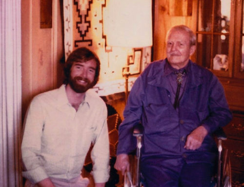 George with Milton Erickson, M.D.